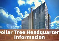 Dollar Tree Headquarters Information