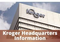 Kroger Headquarters Information