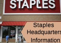 Staples Headquarters Information