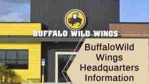 Buffalo Wild Wings Headquarters Information