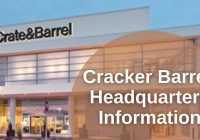 Cracker Barrel Headquarters Information