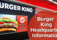 Burger King Headquarters Information