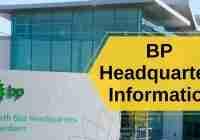 BP Headquarters Information