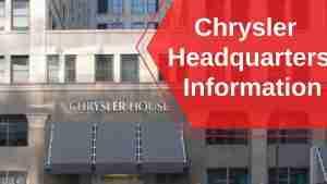 Chrysler Headquarters Information