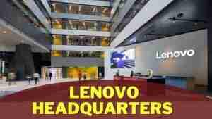 Lenovo Headquarters Information