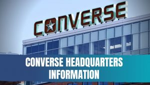 Converse Headquarters Information