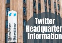 Twitter Headquarters Information