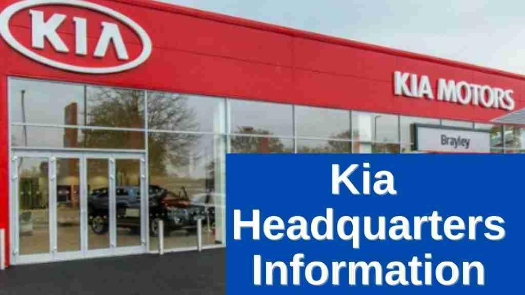 Kia Headquarters Information