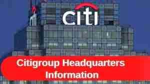 Citigroup Headquarters Information