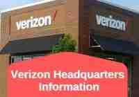 Verizon Headquarters Information