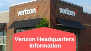 Verizon Headquarters Information