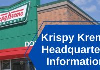 Krispy Kreme Headquarters Information