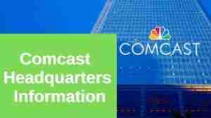 Comcast Headquarters Information